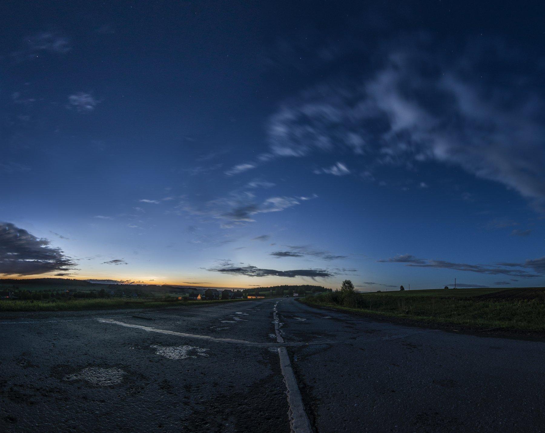 урал, пермский край, серебристые облака, Андрей Козлов
