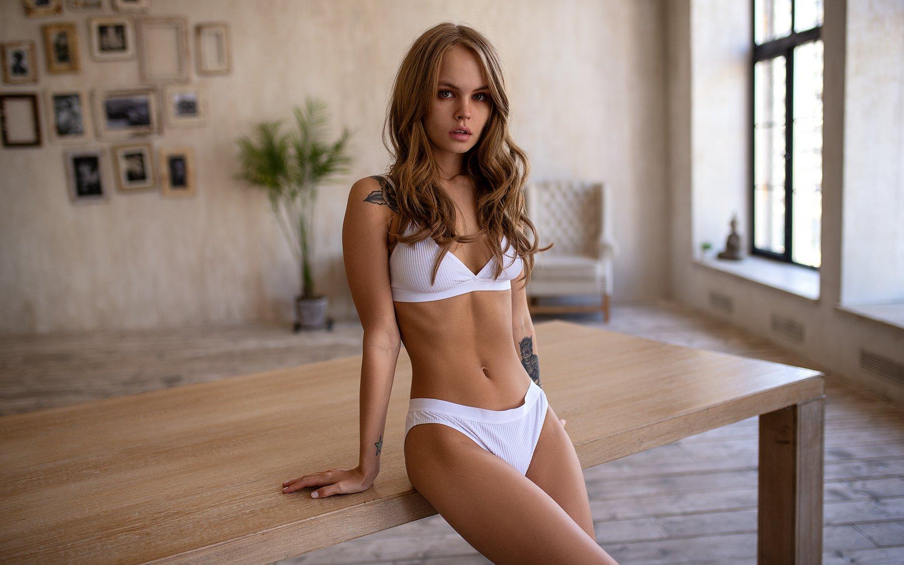 портрет, белье, sexy, Лямин Юрий