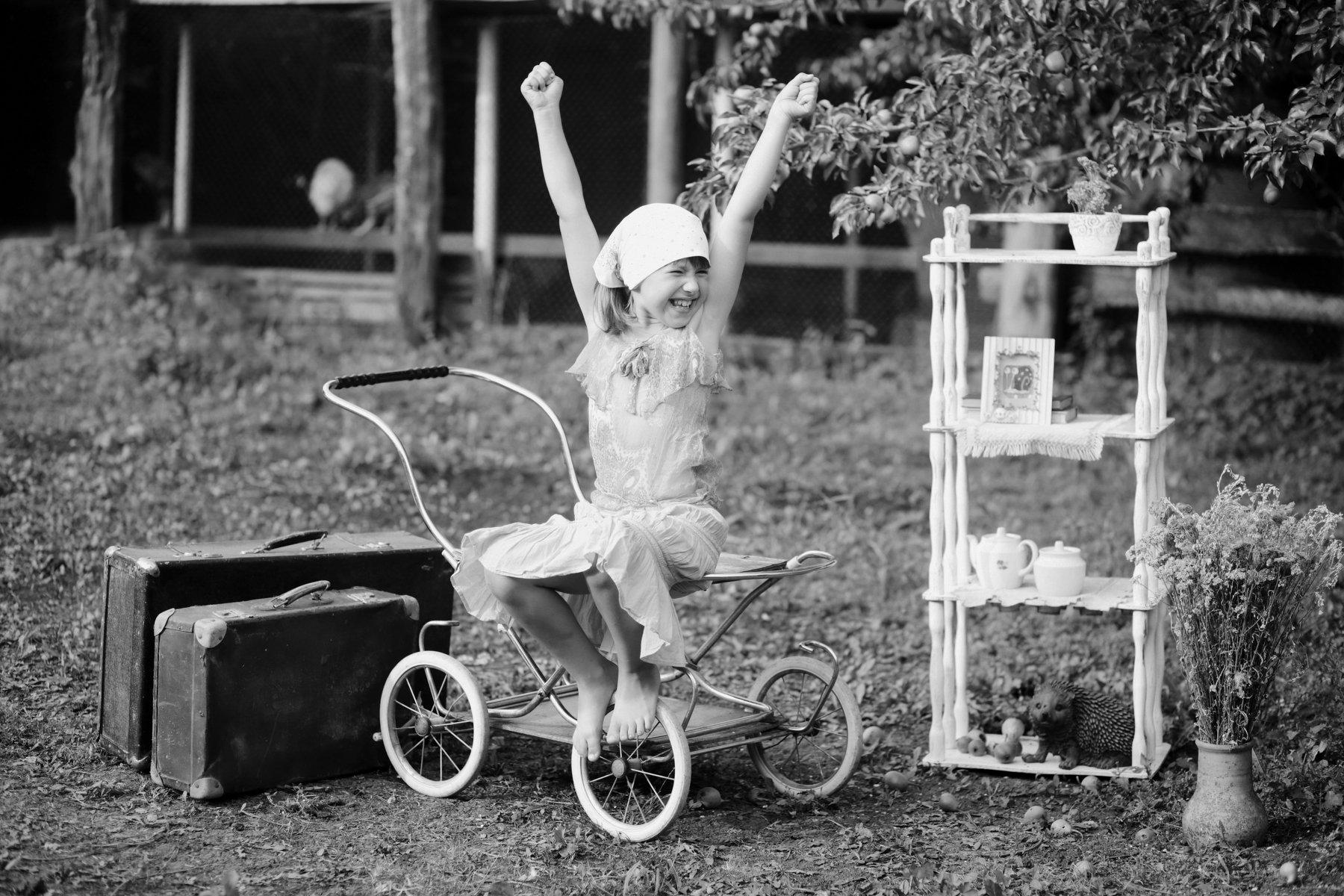 черно-белое фото , лето, деревенская тема, Вера Шамраева