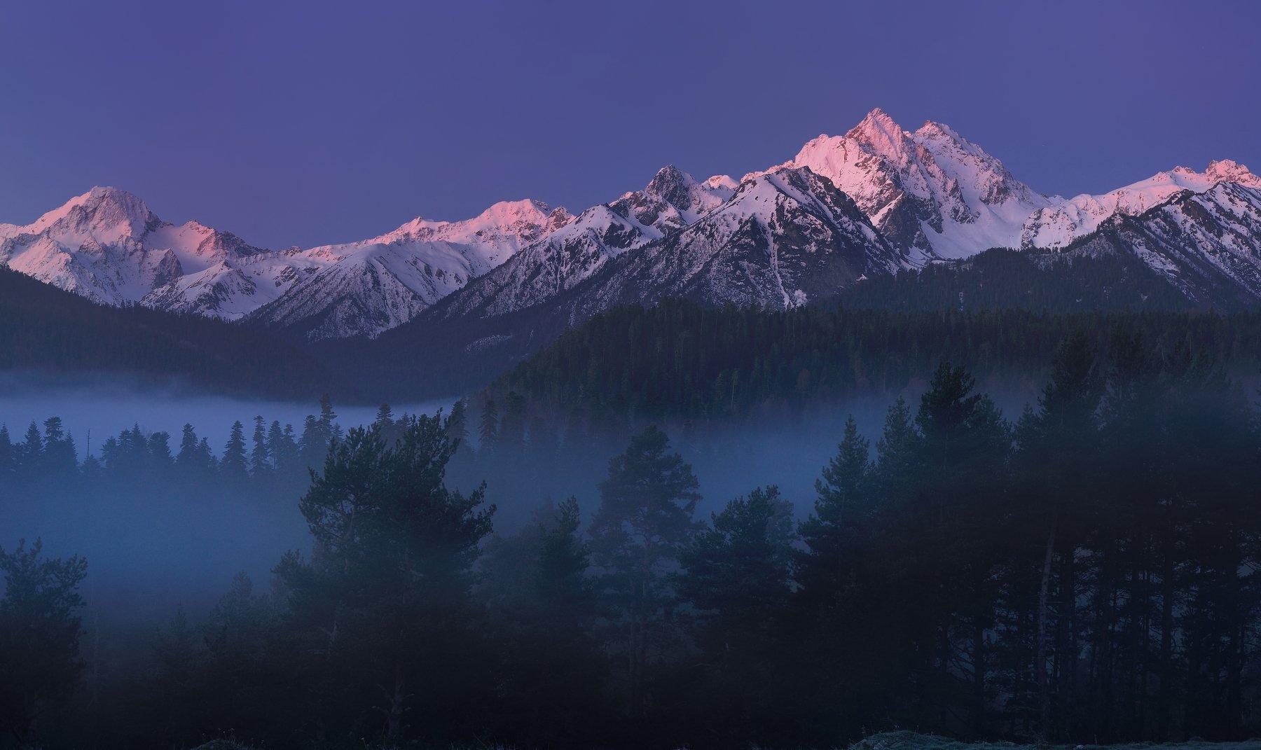 горы весна кавказ архыз, Александр Жарников