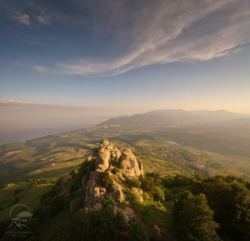 пейзаж, природа, дерево, крым, горы, демерджи, Анатолий Гордиенко www.fototour.org