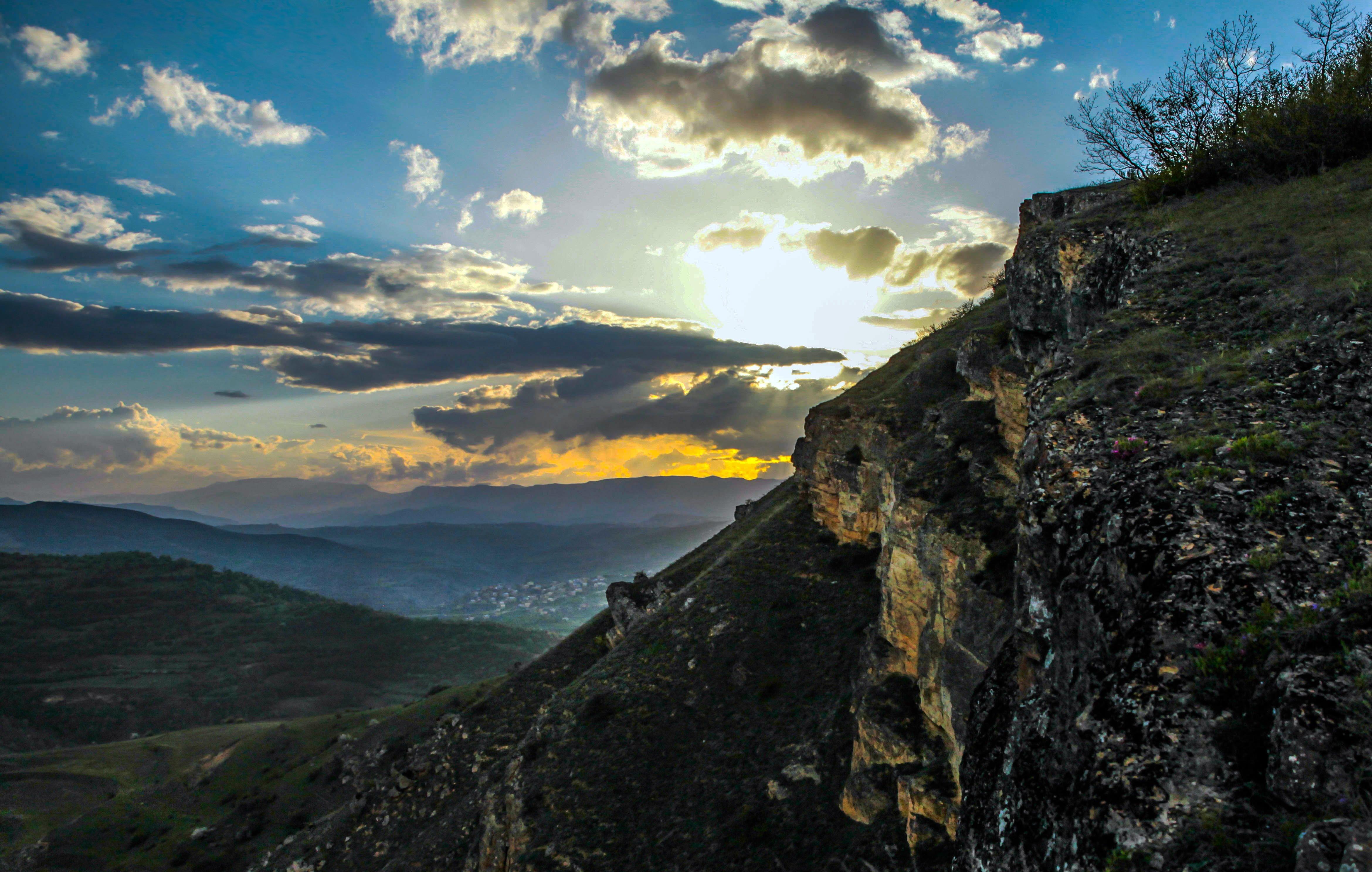 горы,осень,природа,закат., Марат Магов