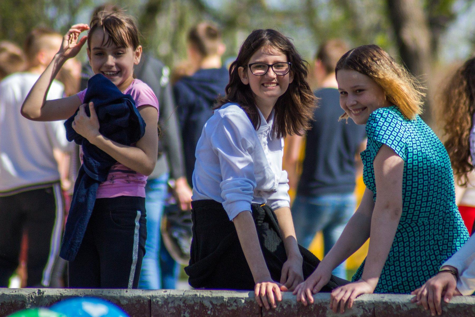 дети, девочки, праздник, детство, радость, Руслан Востриков