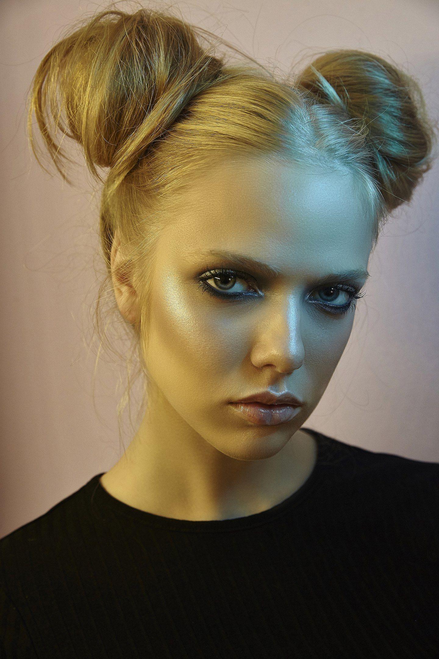 portrait girl model портрет девушка модель, Dancho