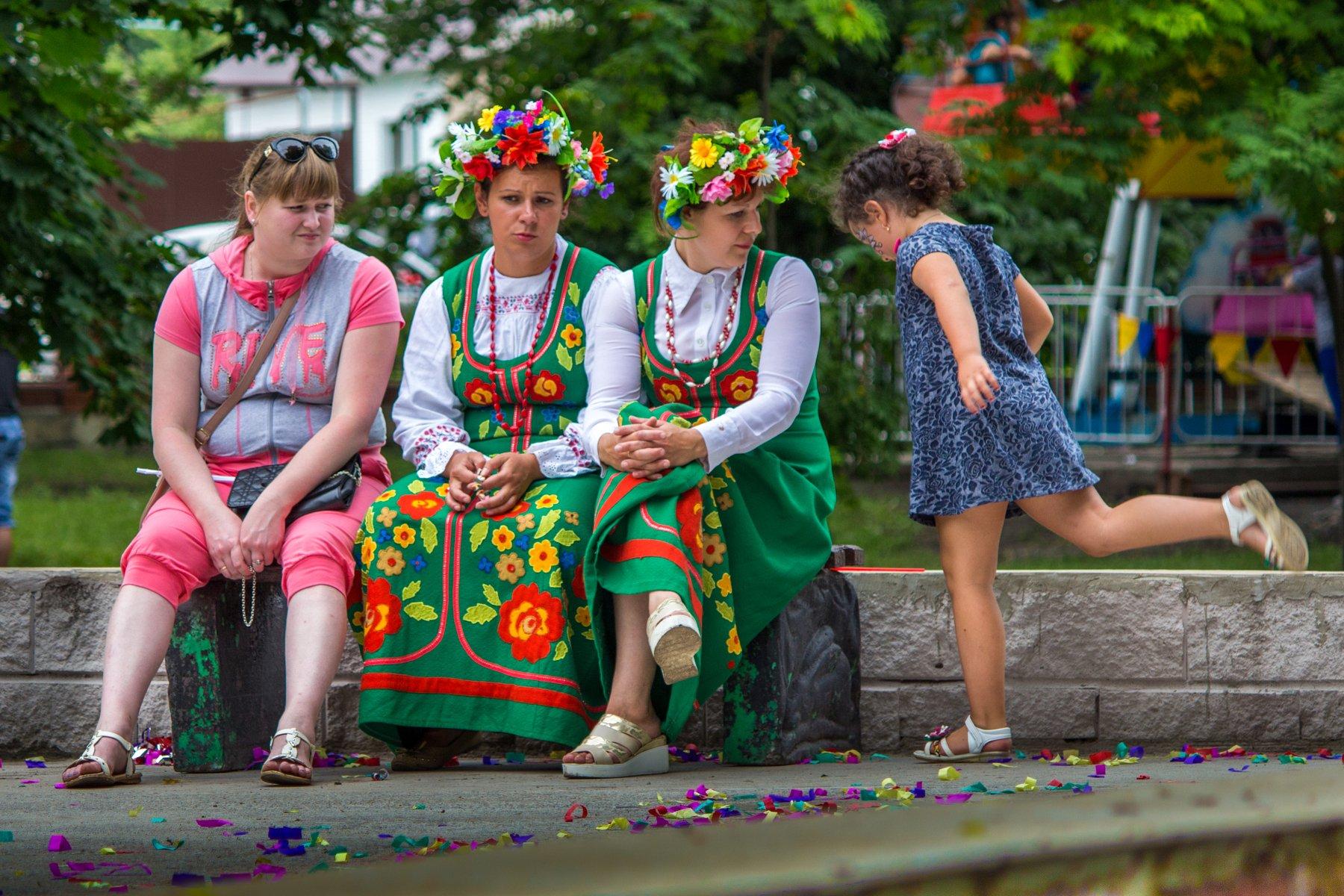 праздник, деревня, городской парк, девочка, Руслан Востриков