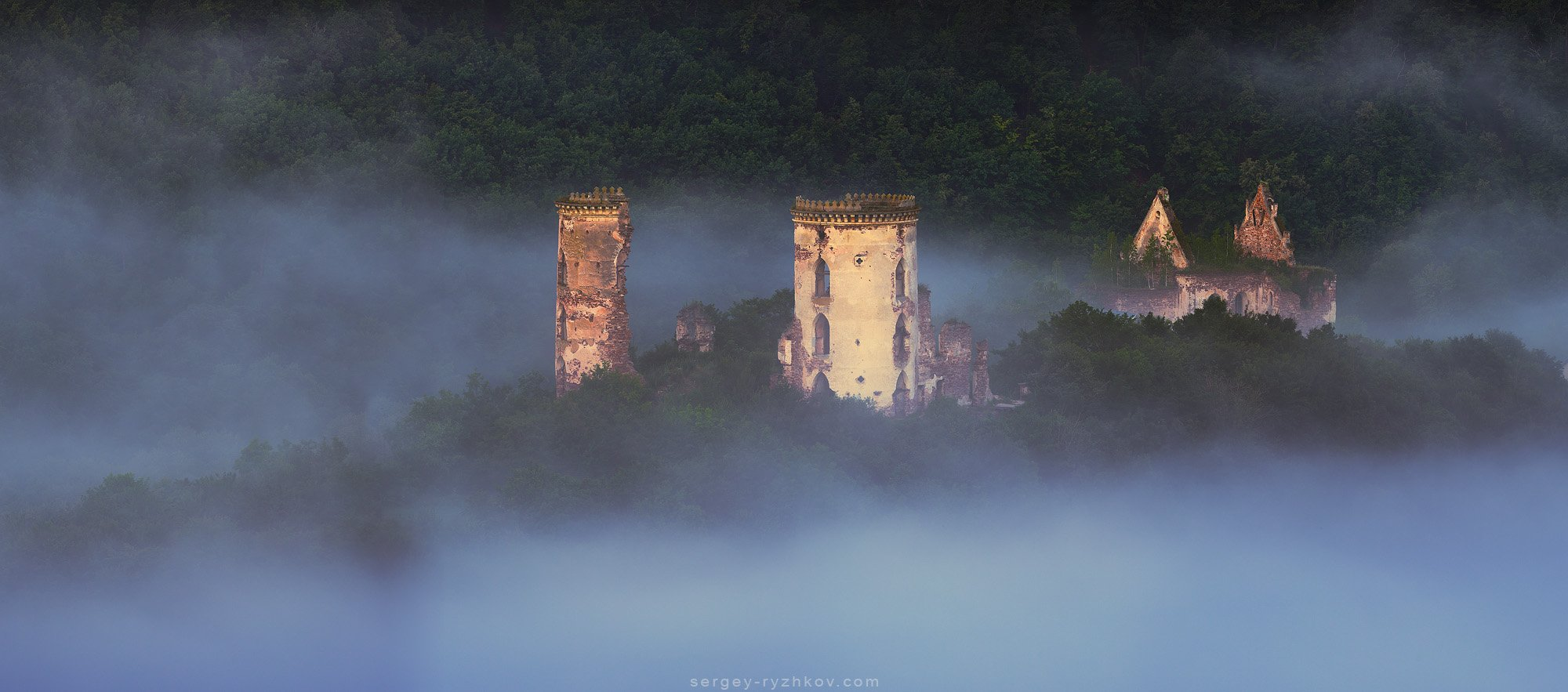 украина, замок, панорама, природа, история, ukraine, castle, panorama,, Сергей Рыжков