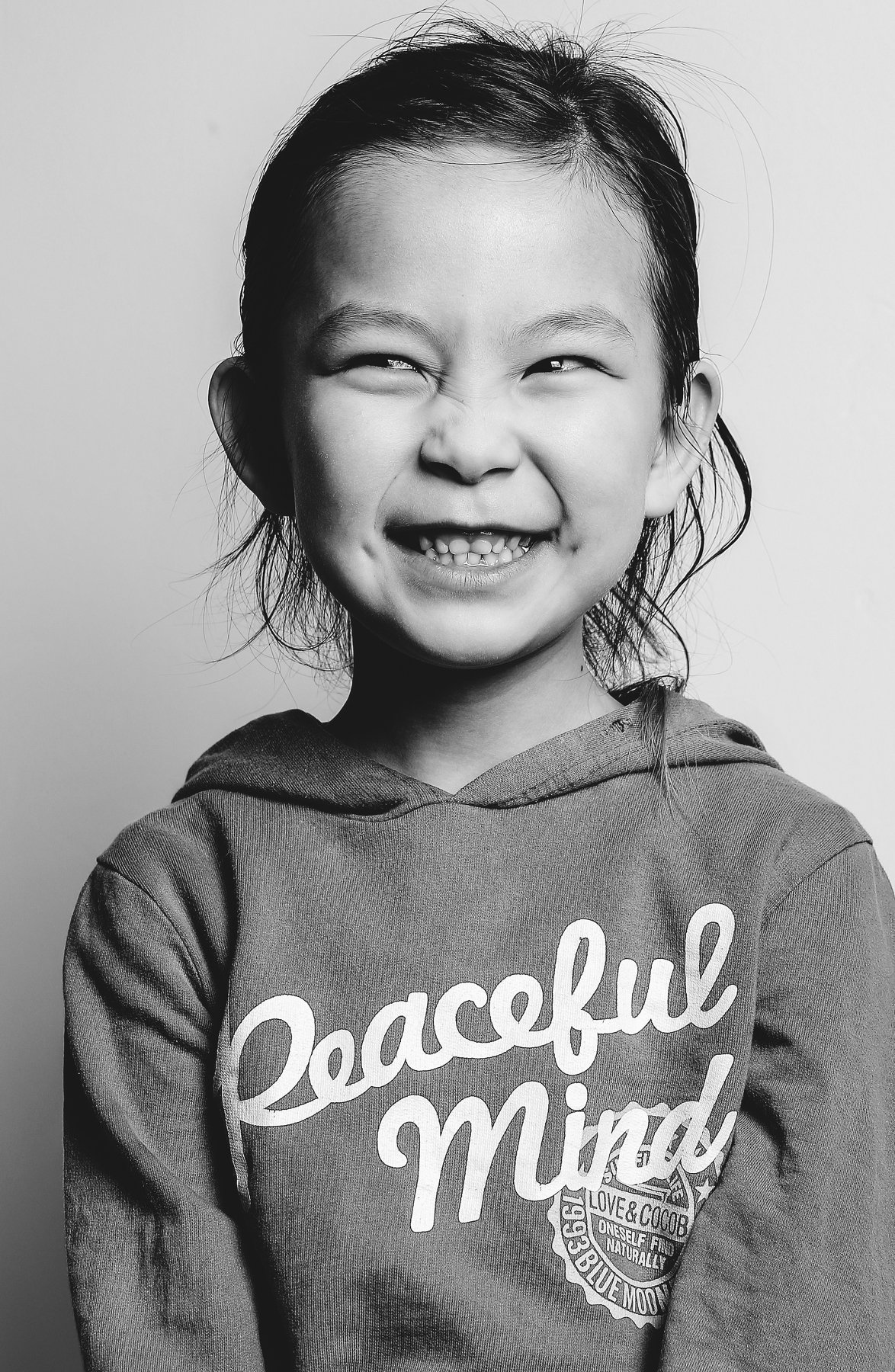 little girl smile, Peaceful, mongolia , Gansukh .S