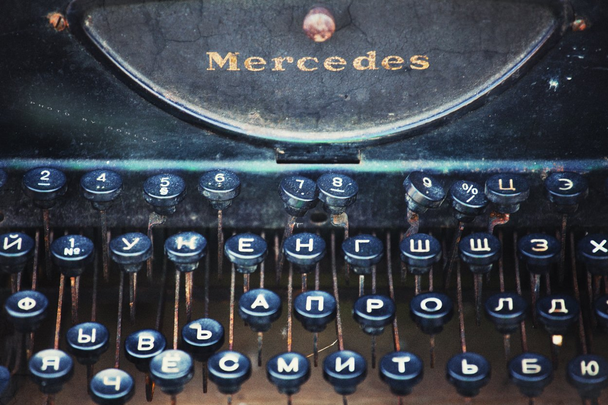 text,keywords,words,keyboard,print,job,vintage,retro,old,macro,broken,old school,, Александр Горлов