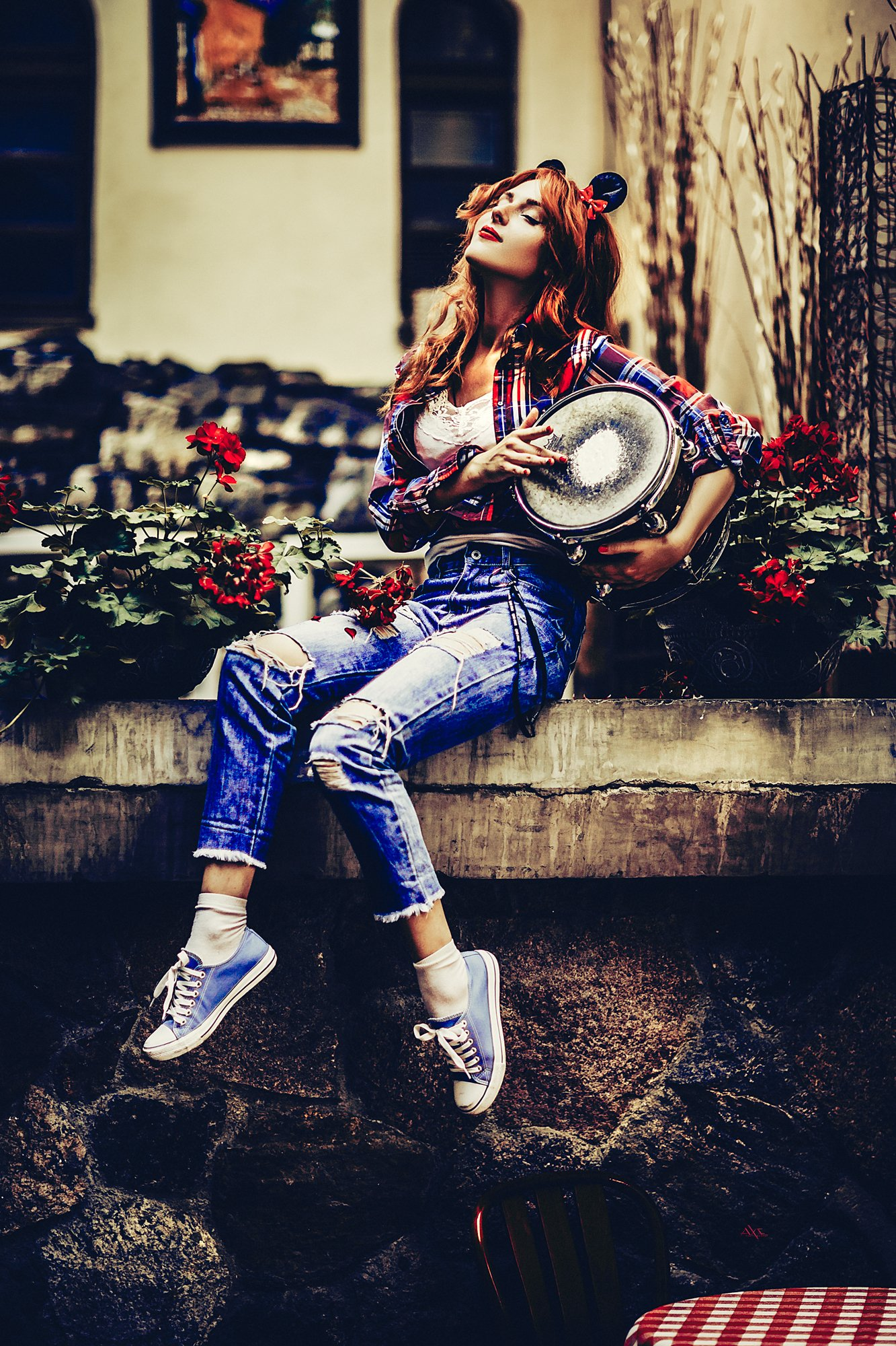 woman, portrait, art, beauty, natural light, pin-up, fashion, Руслан Болгов (Axe)