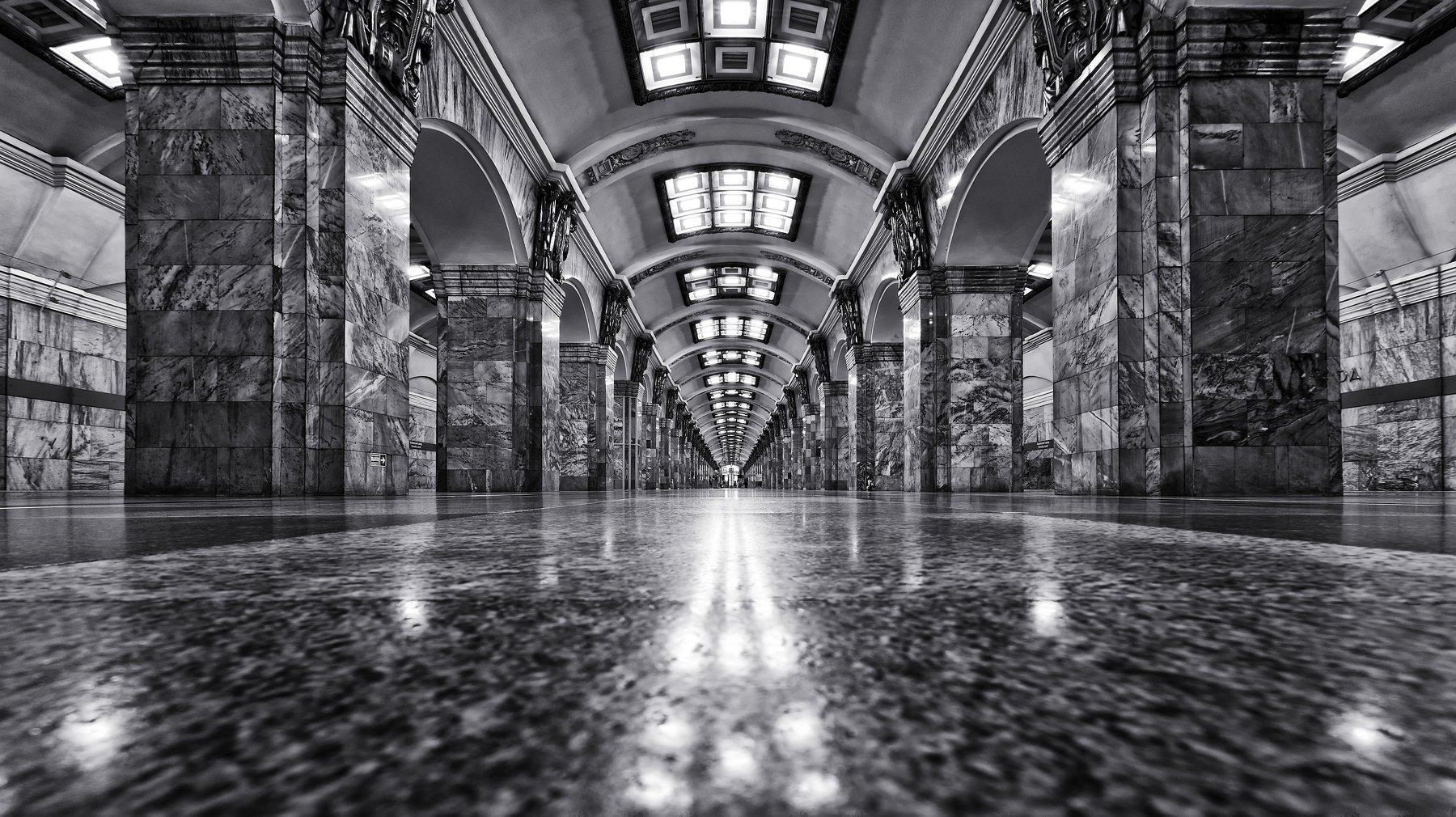город,метро,станция,мрамор,архитектура, Тамара