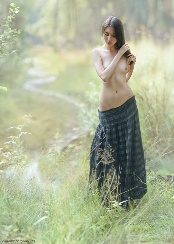 девушка,обнажённая,красота,нежность,гармония,настроение, Сергеев Александр