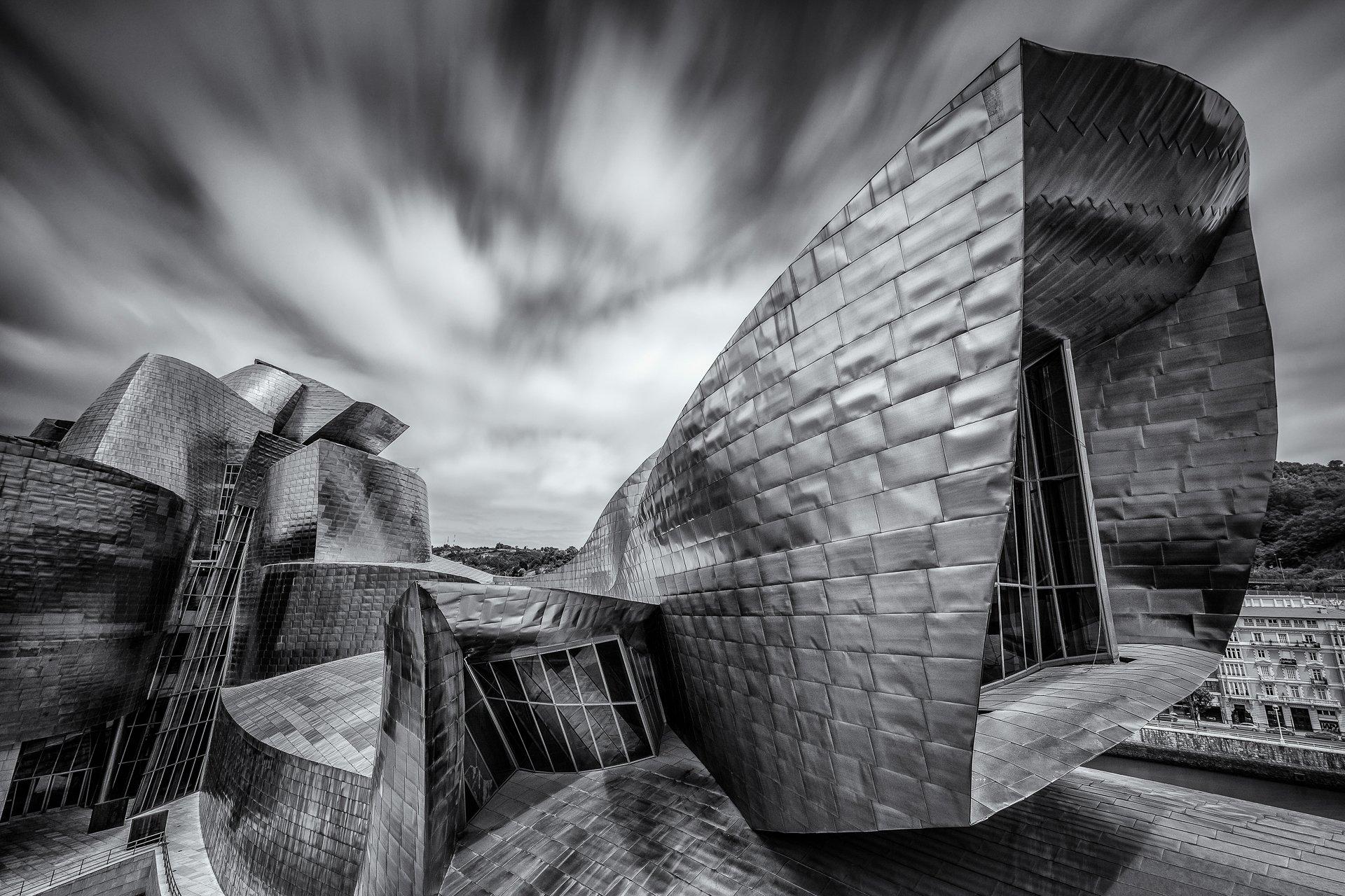 Bilbao, España, Spain, Europe, Guggenheim, Museum, LongExposure, Long, Exposure, , Hugo Só