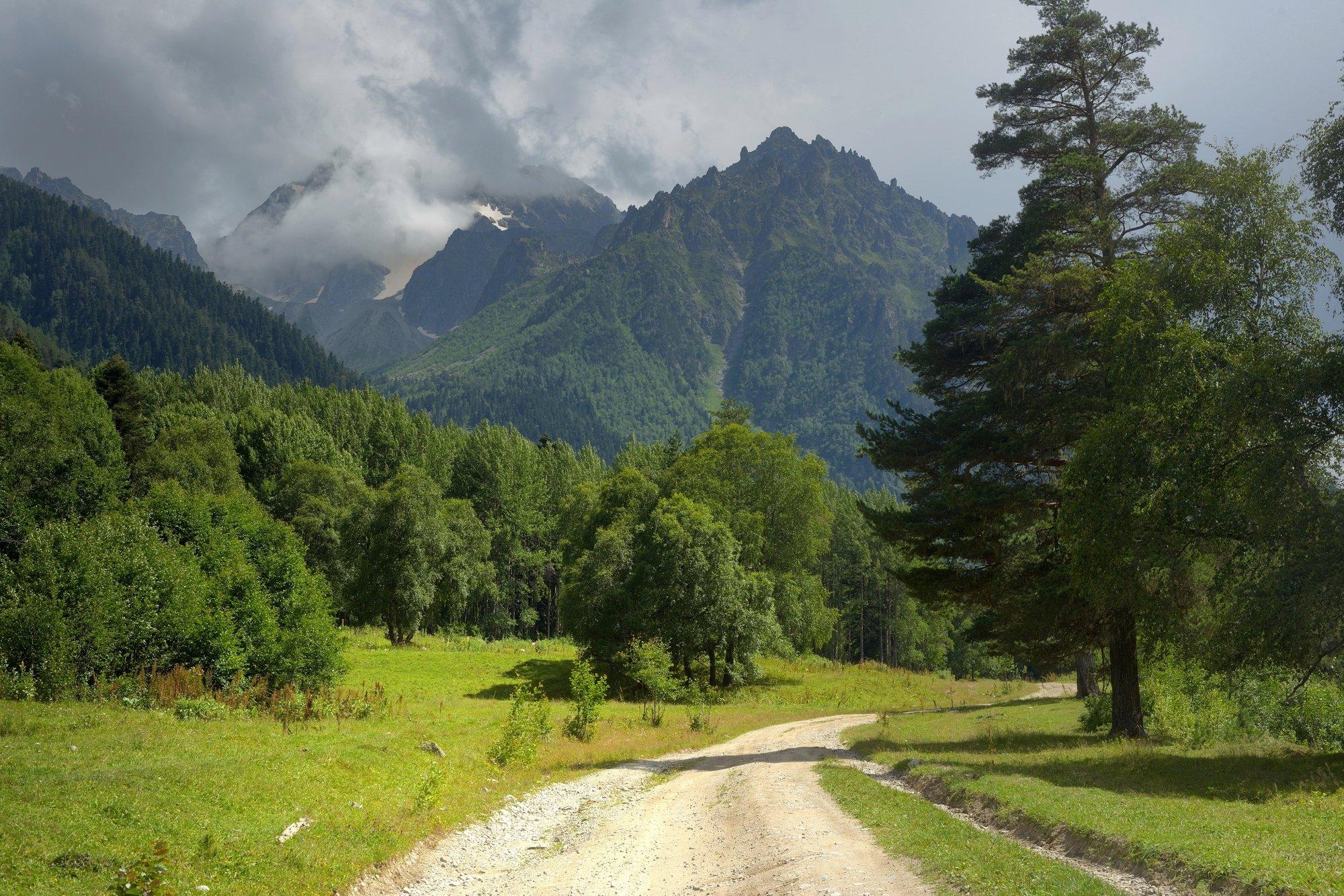 горы лето аксаут, Александр Жарников