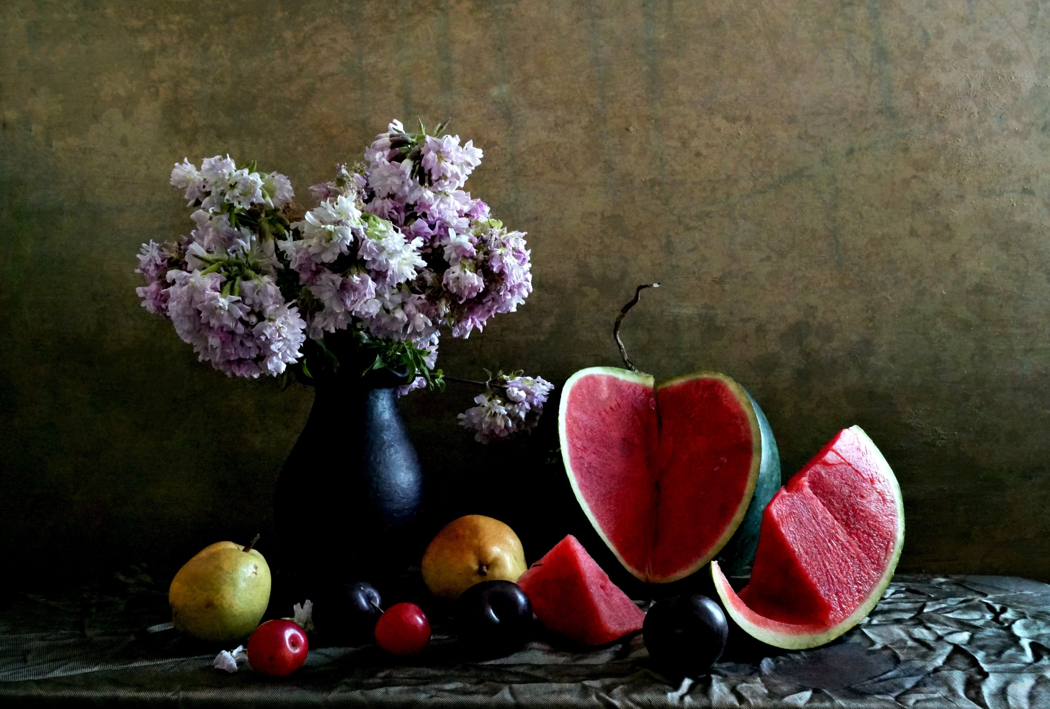 flower and watermelon, Hilmi
