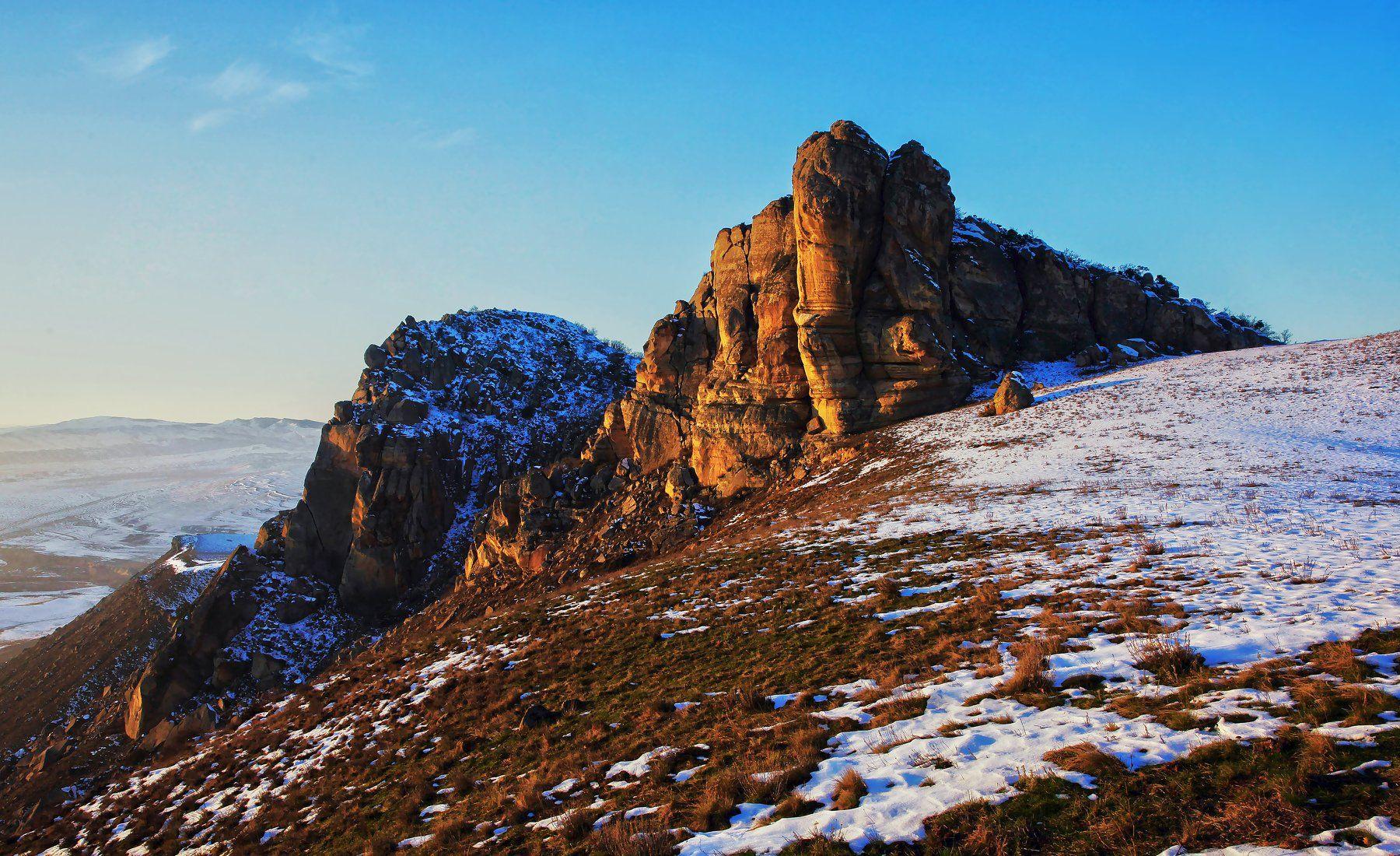 горы,зима,скалы,дагестан, Марат Магов