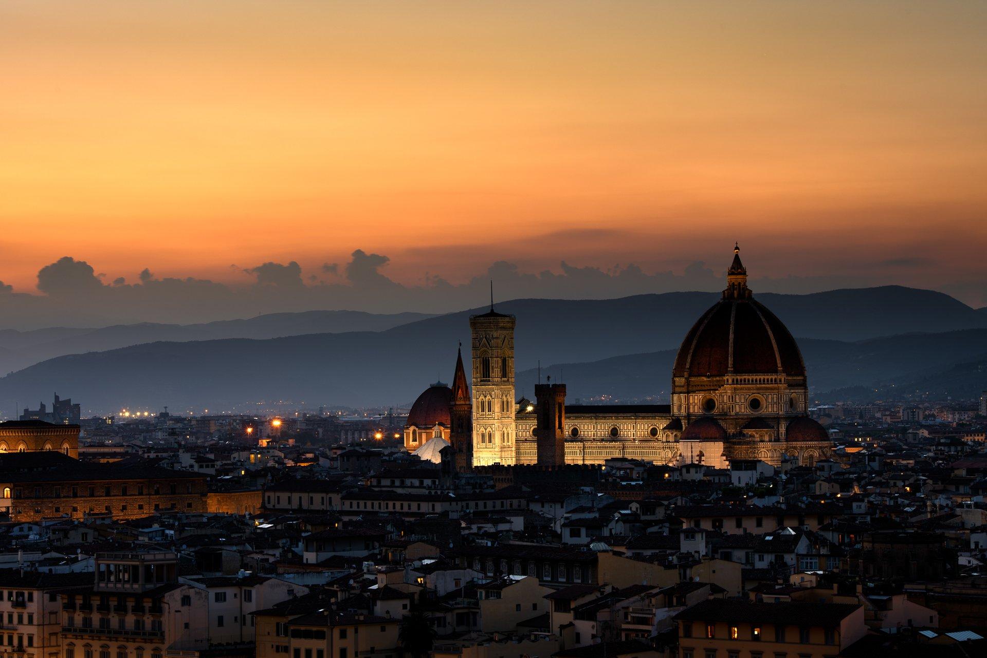 Florence, Italy, Europe, Hugo, Só, HugoSó, Nikon, D810, NikonD810, Duomo, Old, city, Sunset, Vacations, 70-200, Hugo Só