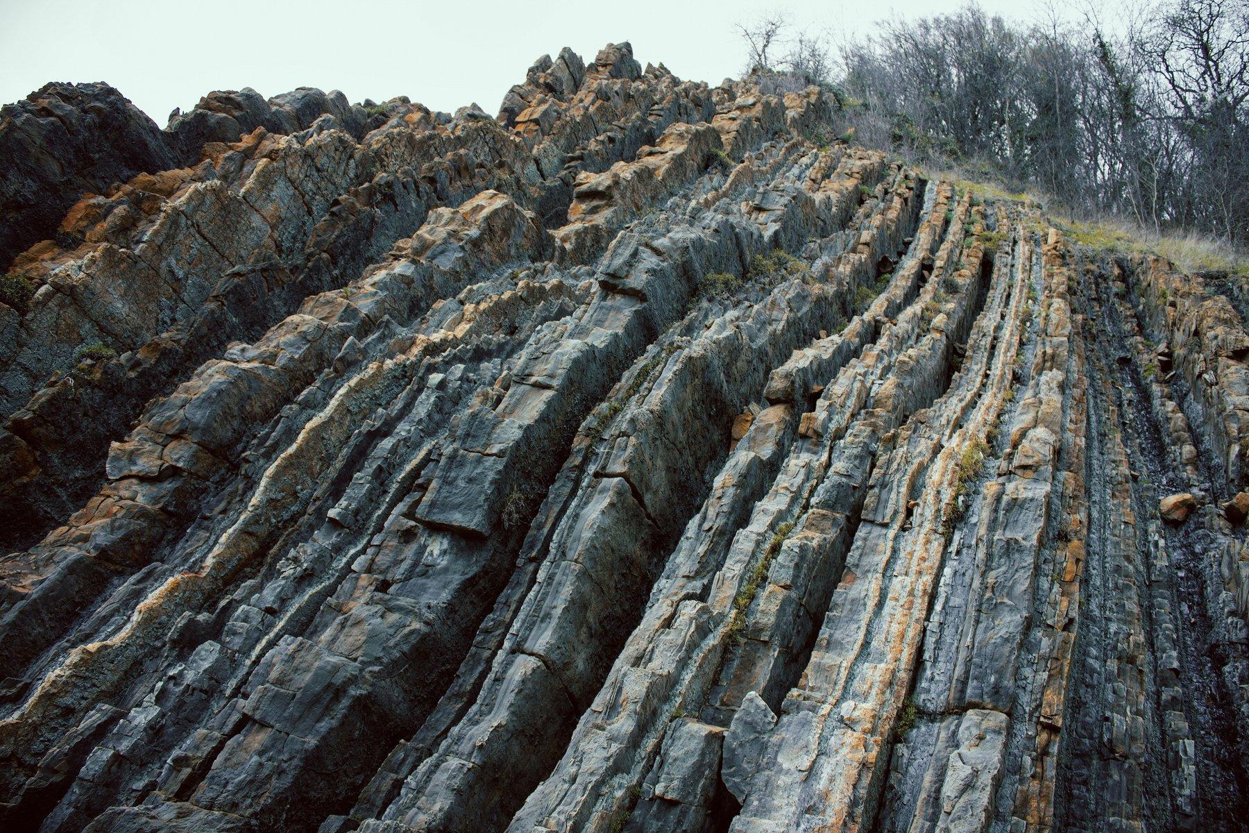 камень, полосы, скала, скалы, слои, слой, Vladimir Kedrov