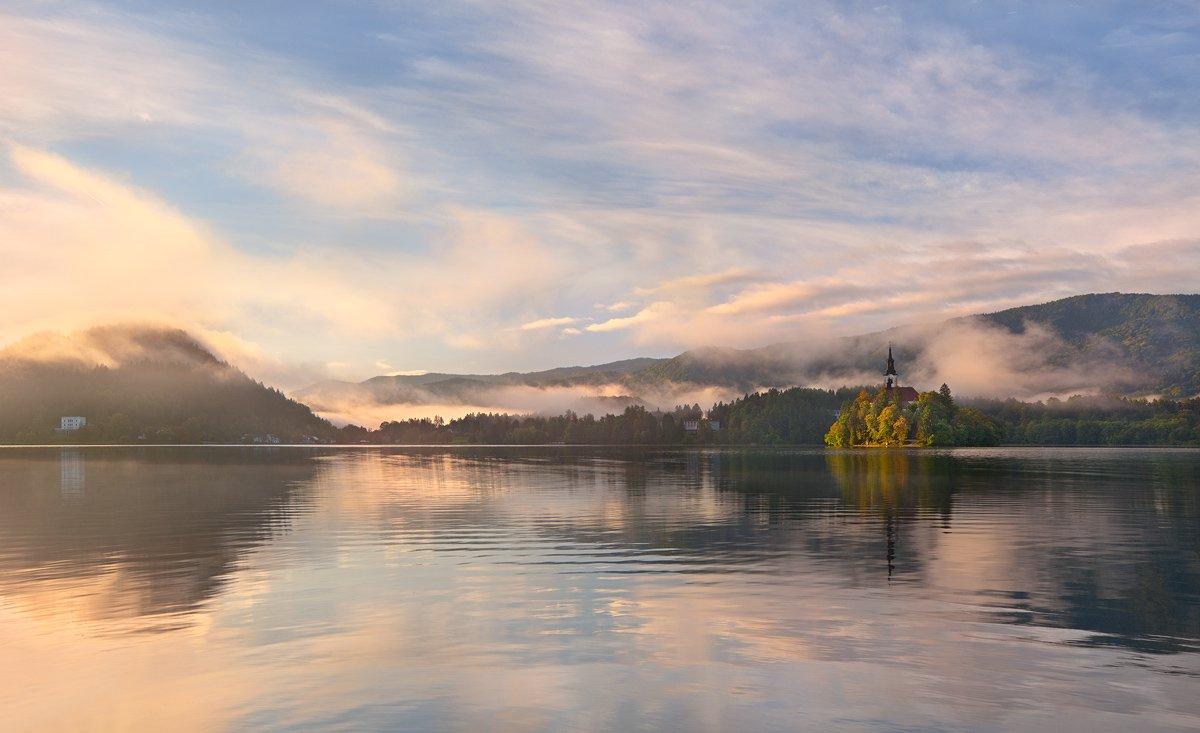 blejsko, jezero., slovenija., izh Diletant (Валерий Щербина)