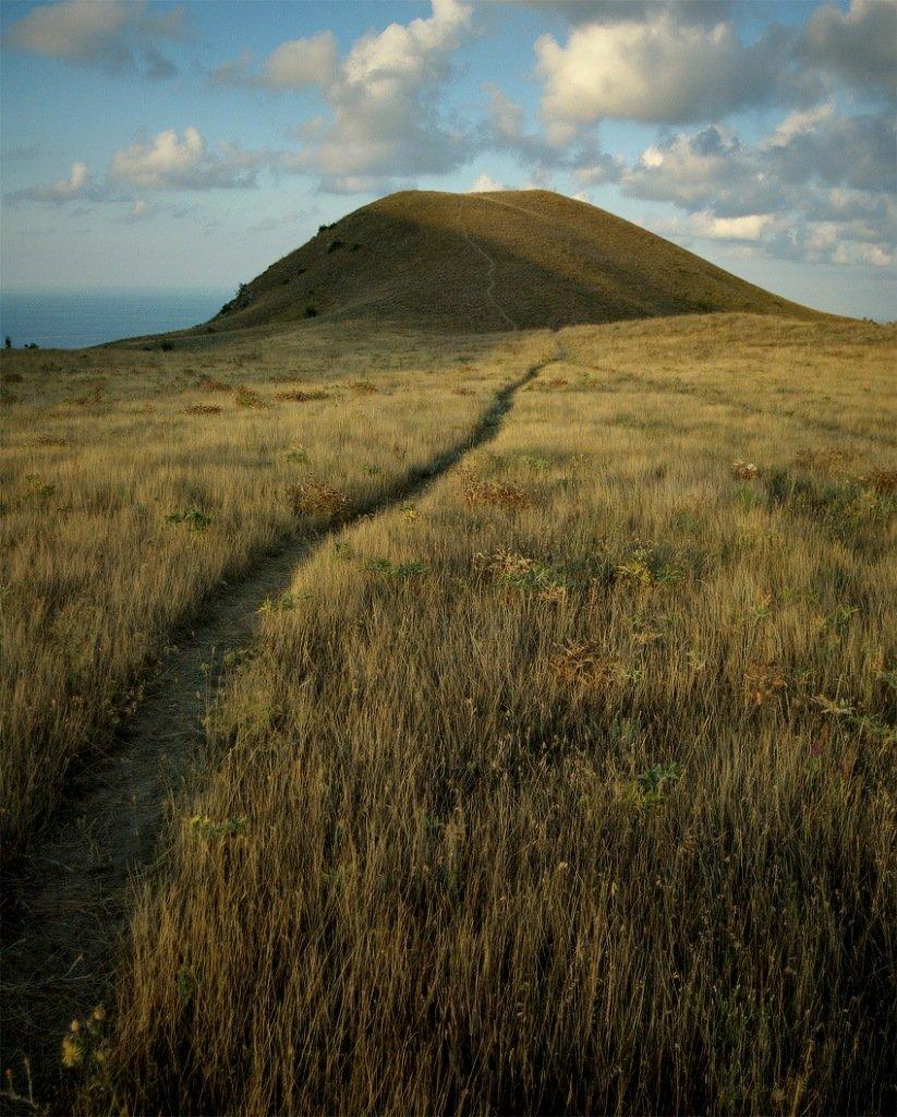крым, природа, пейзаж, панорама, утро, дорога, Piligrim