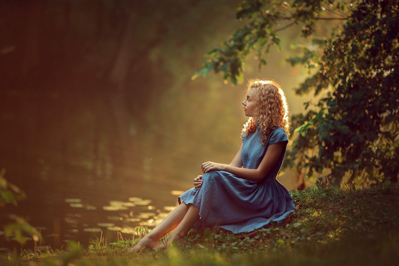 девушка, портретная фотосессия, фотосессия на природе, Катрин Белоцерковская