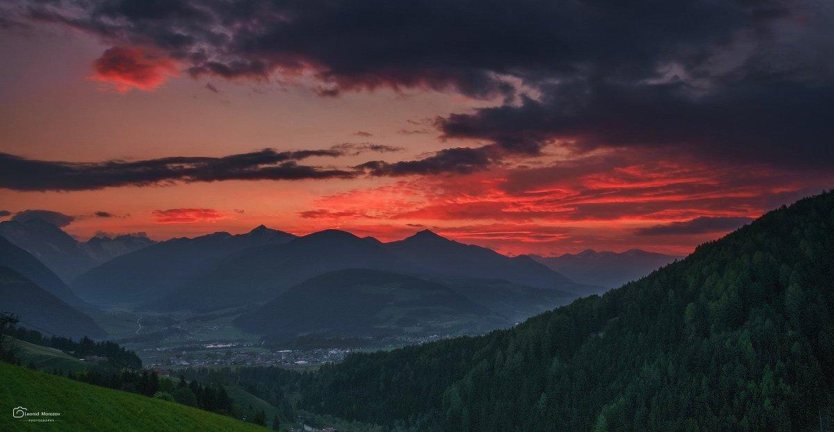 austria., österreich., hallein., salzach., alps., alpen., water., reflection., obertauern., europe., nature., landscape., mist., fog., forest., morning., golden, light., landscape., daniel, rericha., Leonid