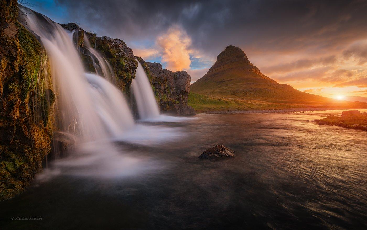 исландия, путешествия, island, travel, киркьюфетль, kirkjufell, Александр Кукринов