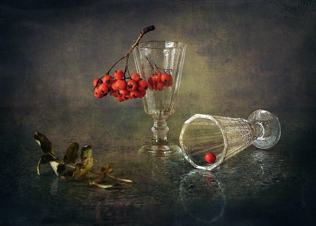 натюрморт,рябина,осень, Наталия К