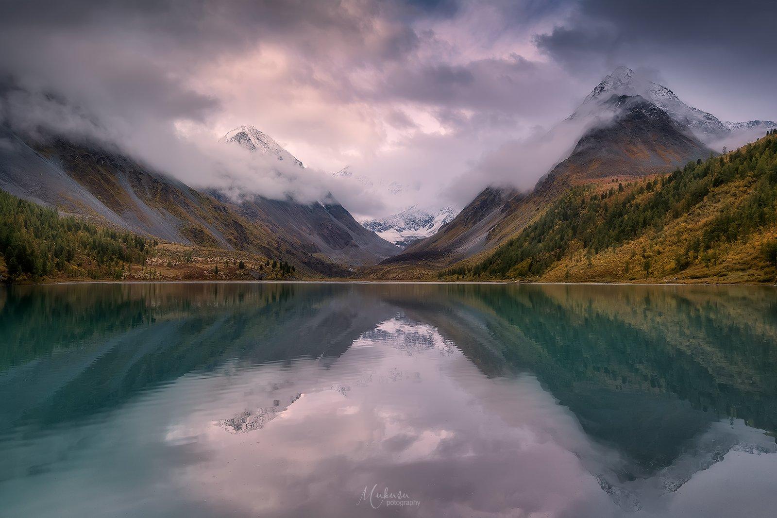 landscape, пейзаж, sunset, алтай, Алексей Самойленко