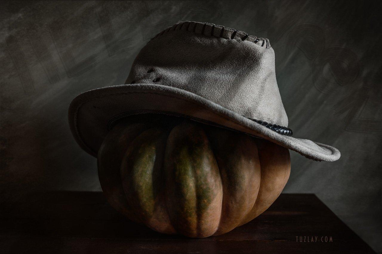 тыква, шляпа, helloween, Владимир Тузлай