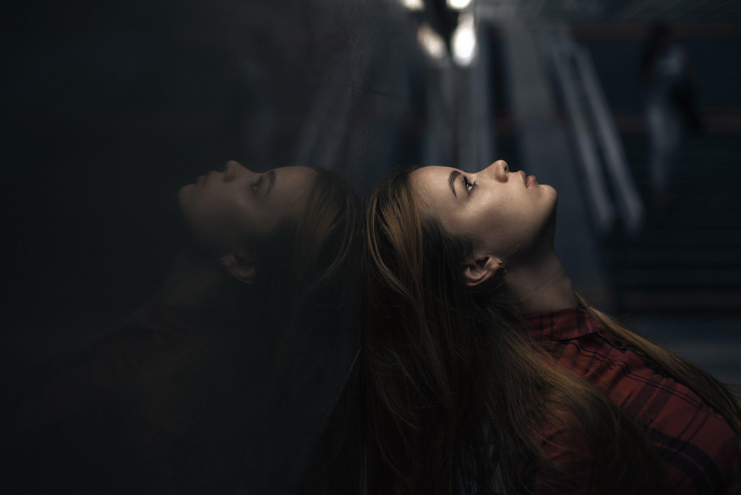 девушка, портрет, настроение, переход, Александр Тишкевич