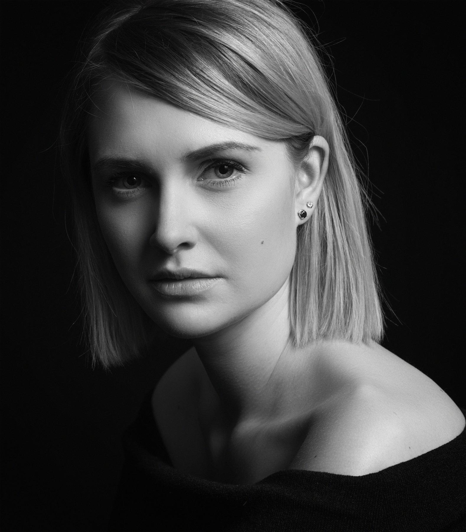 портрет,жанровый портрет , женщина, черно -белое, девушка, wb , красивая ,взгляд, Наталия Холодова