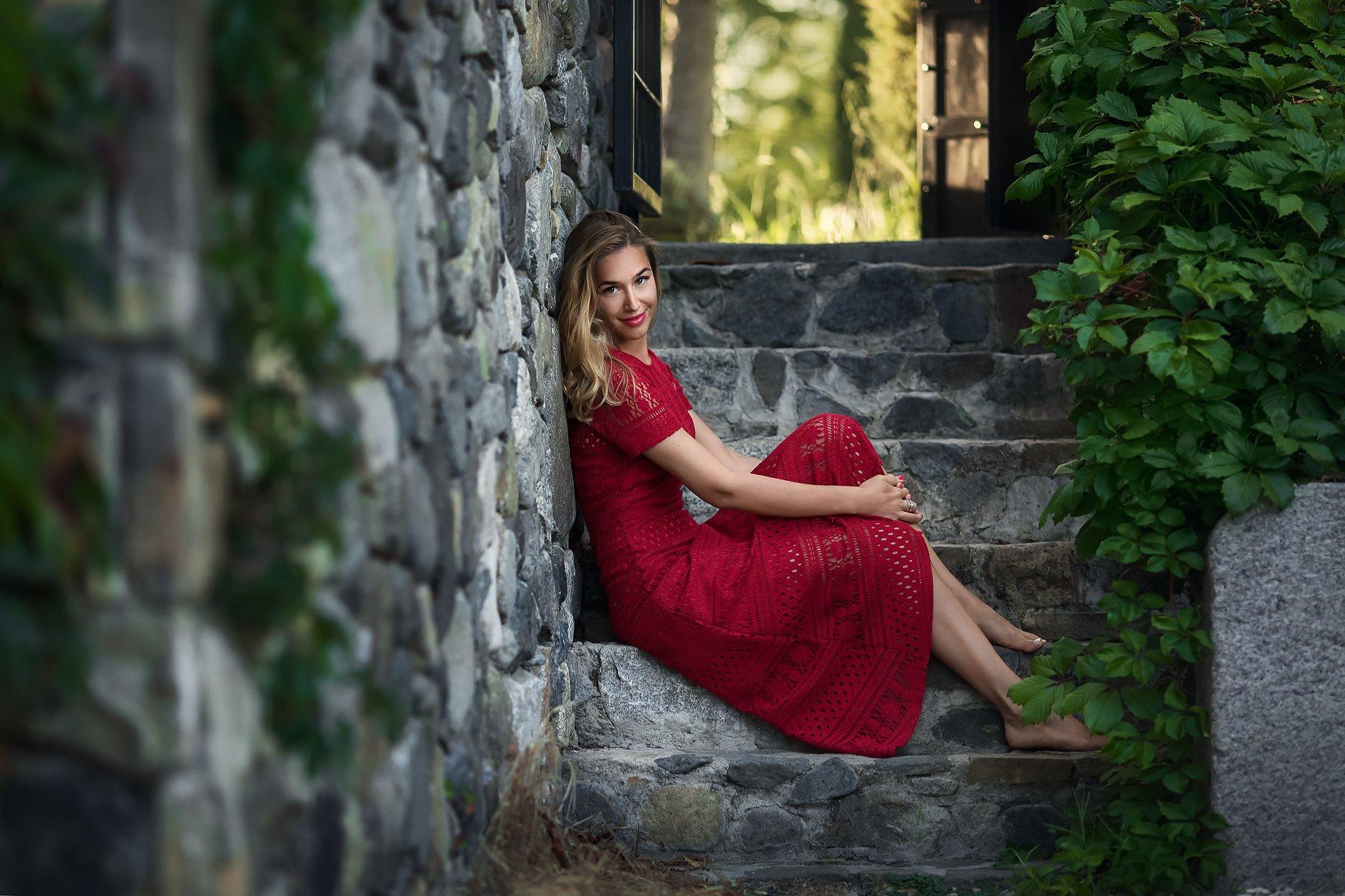 Модель, портрет, девушка, Бармина Анастасия