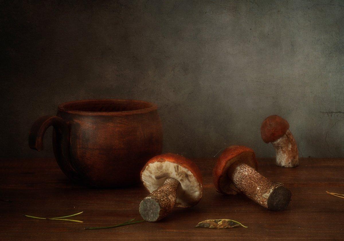 натюрморт,грибы,осень,подосиновик, Наталия К