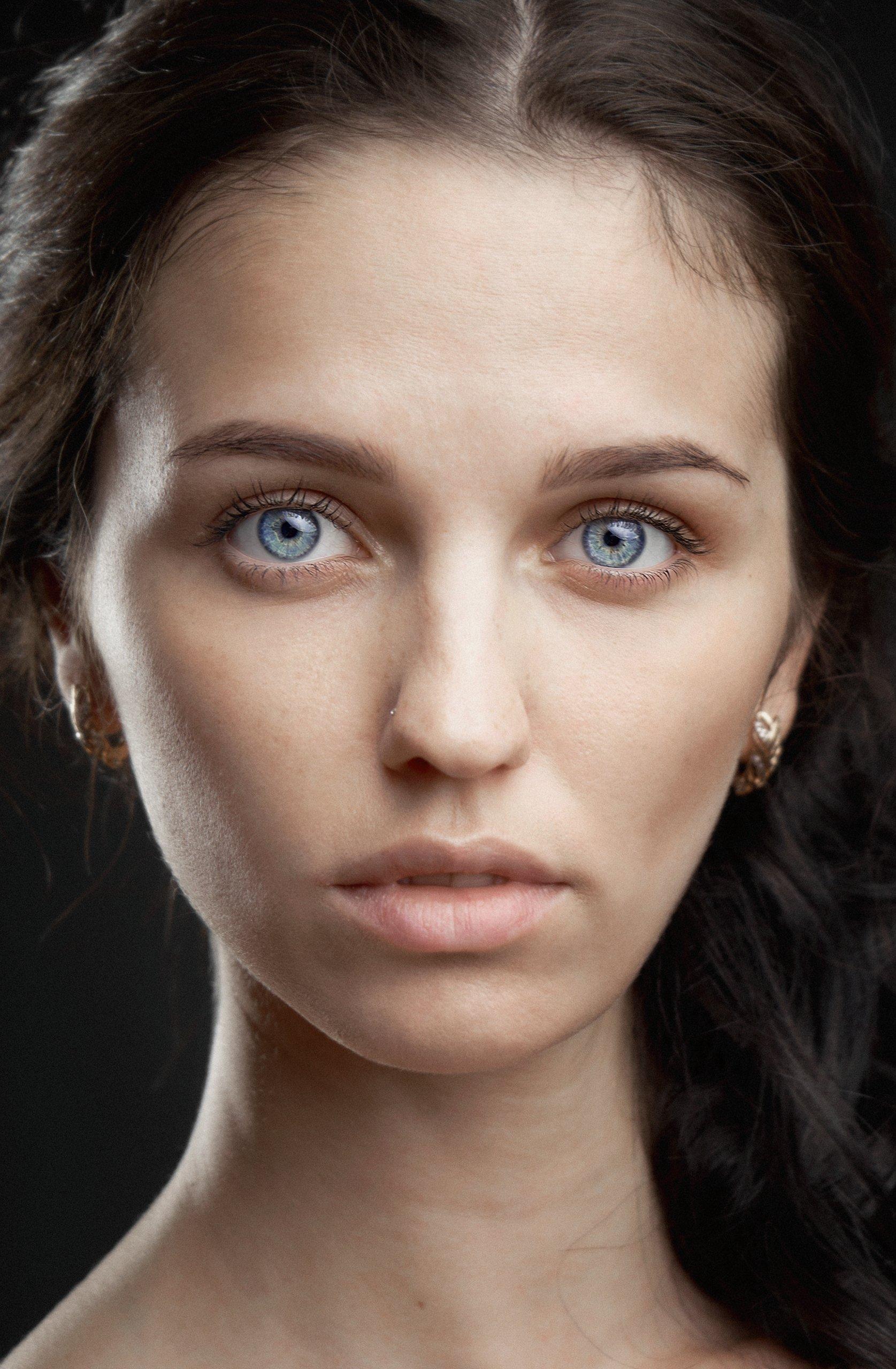 portait, model, girl, портрет, модель, девушка, арт, art, headshot portrait, headshot, Смотров Андрей