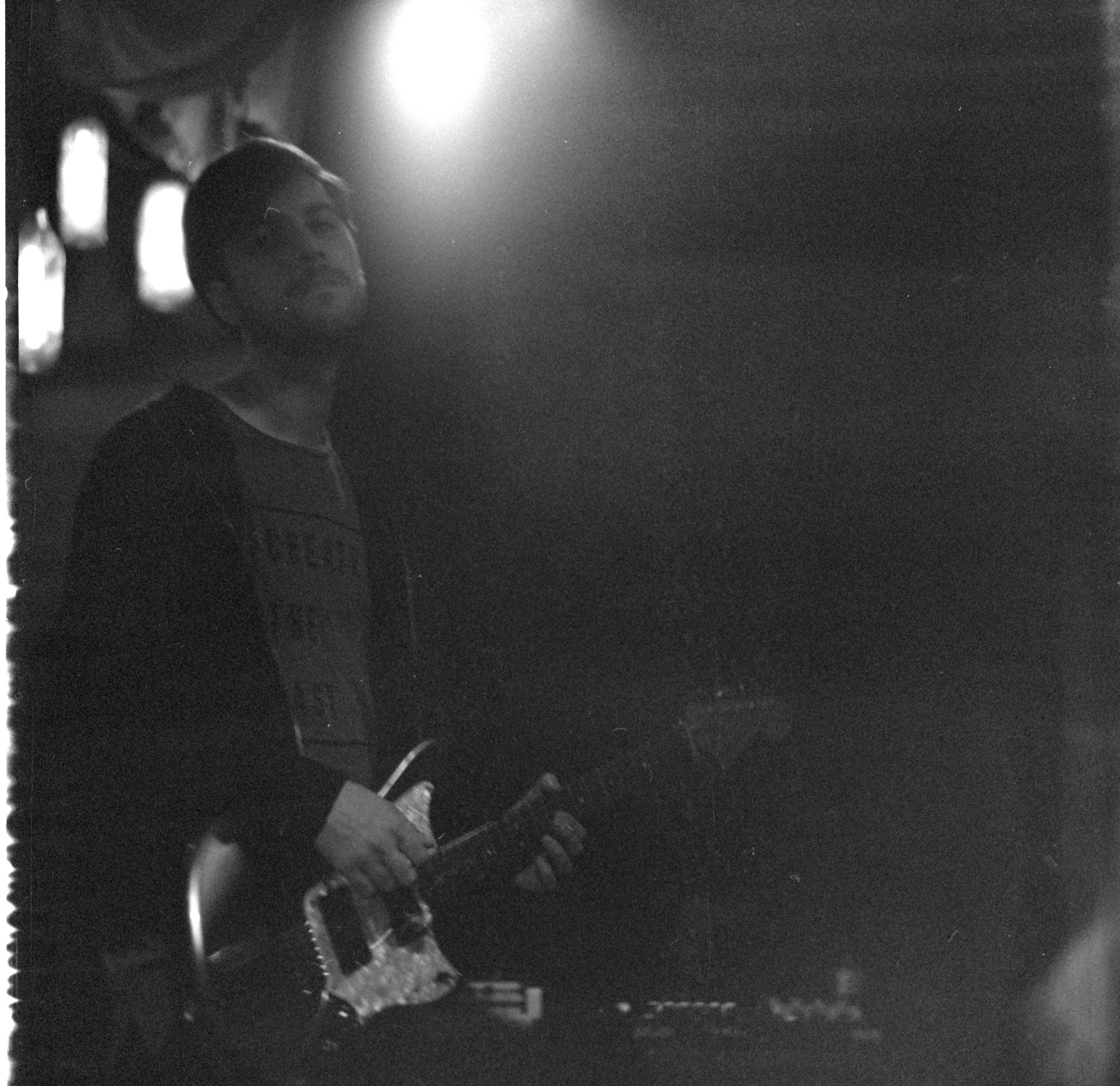 film, concert, black, white, scene, bulgaria, rock, bank, guitar, Evgeny Ivanov