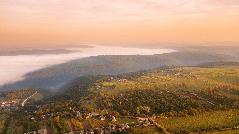 днестр, осень, подолье, рассвет, сентябрь, туман, украина, утро, Вейзе Максим