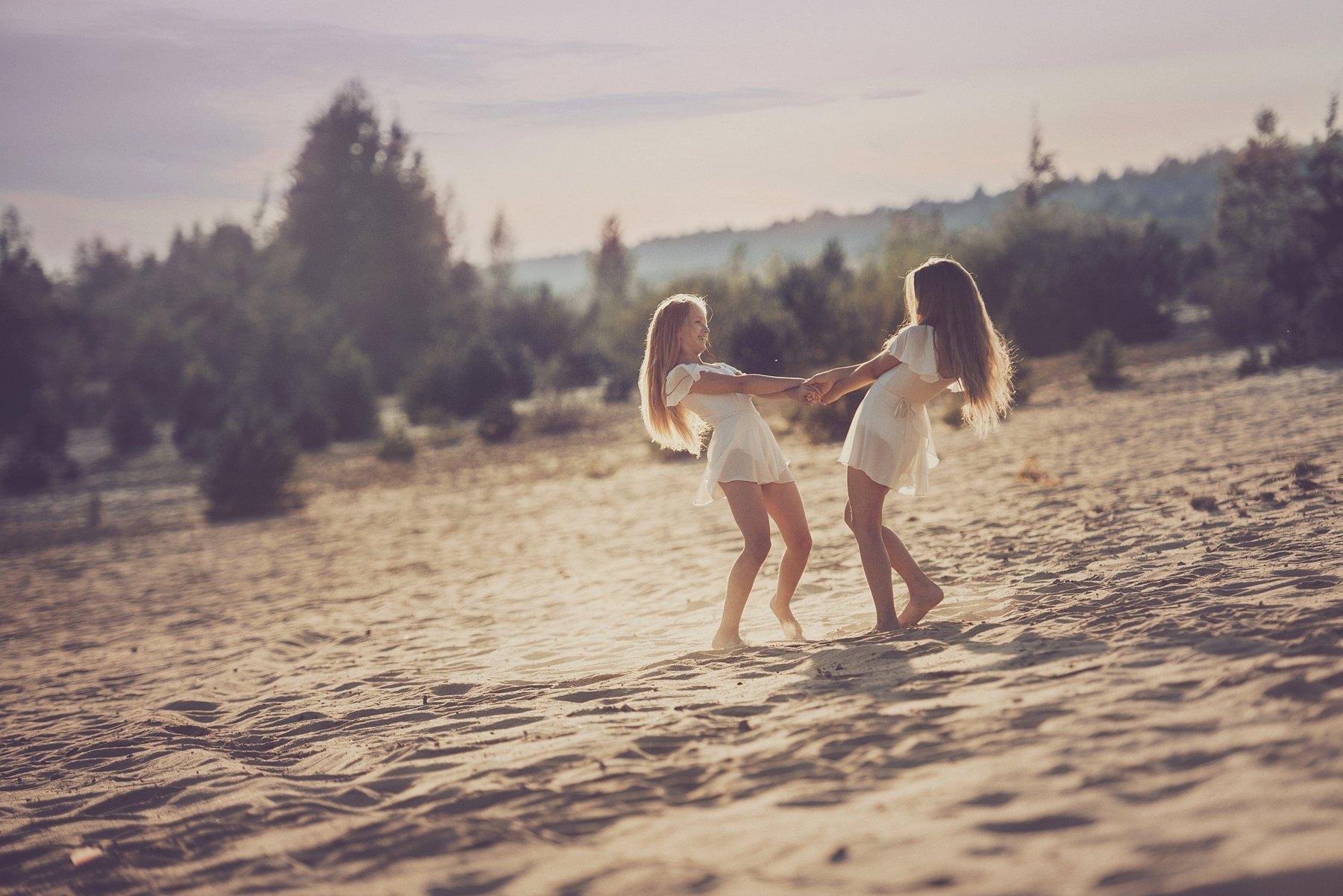 girls, friends, summer, west, happy, Anna Ścigaj