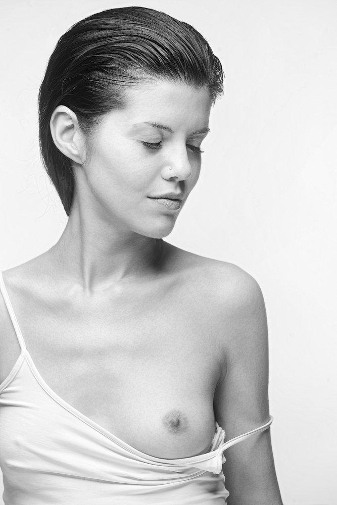 portrait, bw, nude, Aleksandr Kljuchenkow