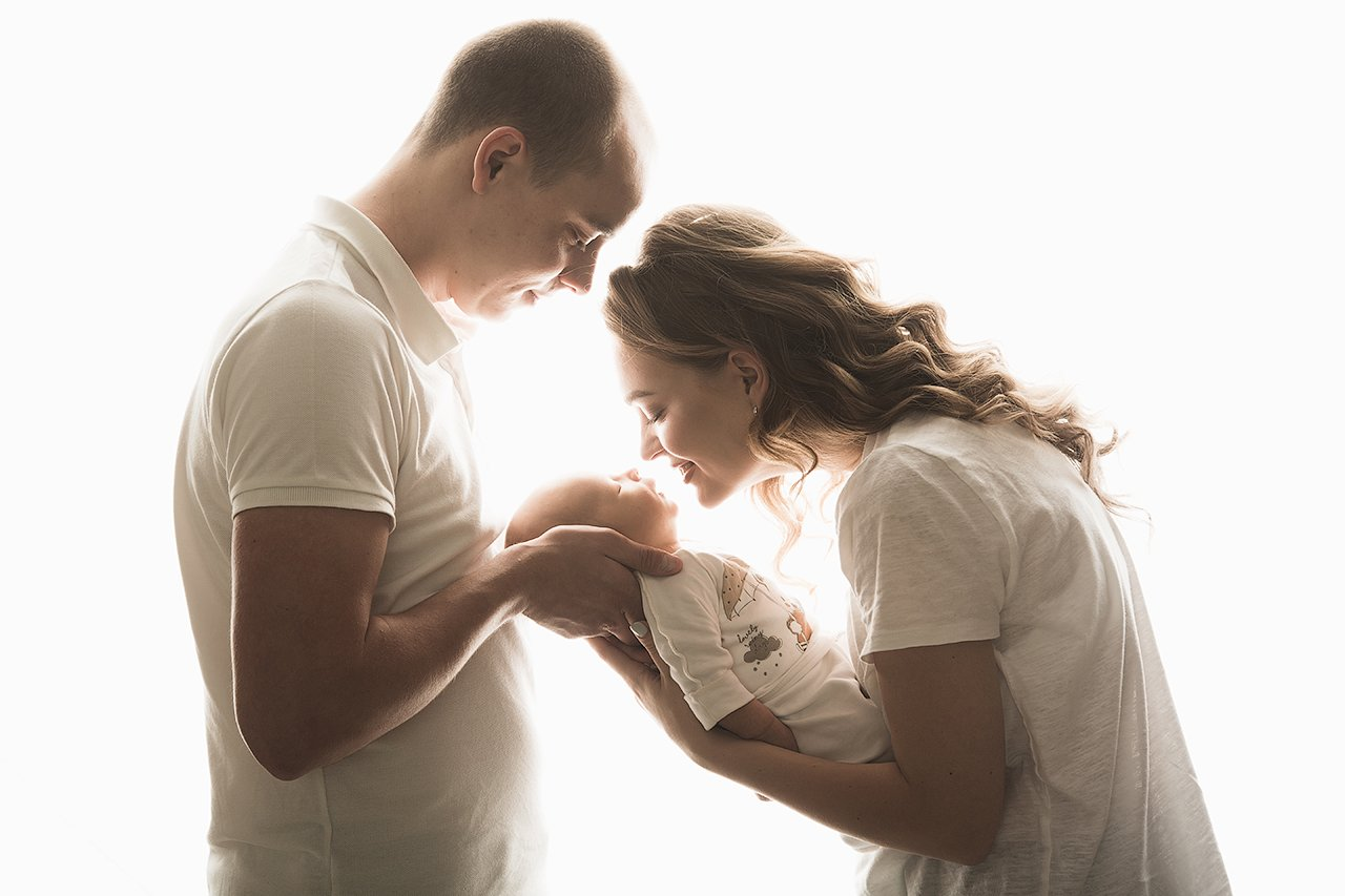 малыш, семья, мама, папа, любовь, свет, красота, Комарова Дарья