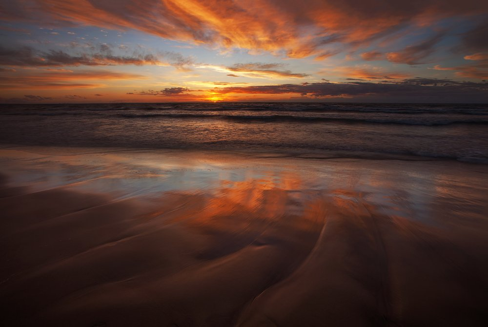 усть-нарва, пейзаж, море, закат, цвет, ключенков, Aleksandr Kljuchenkow
