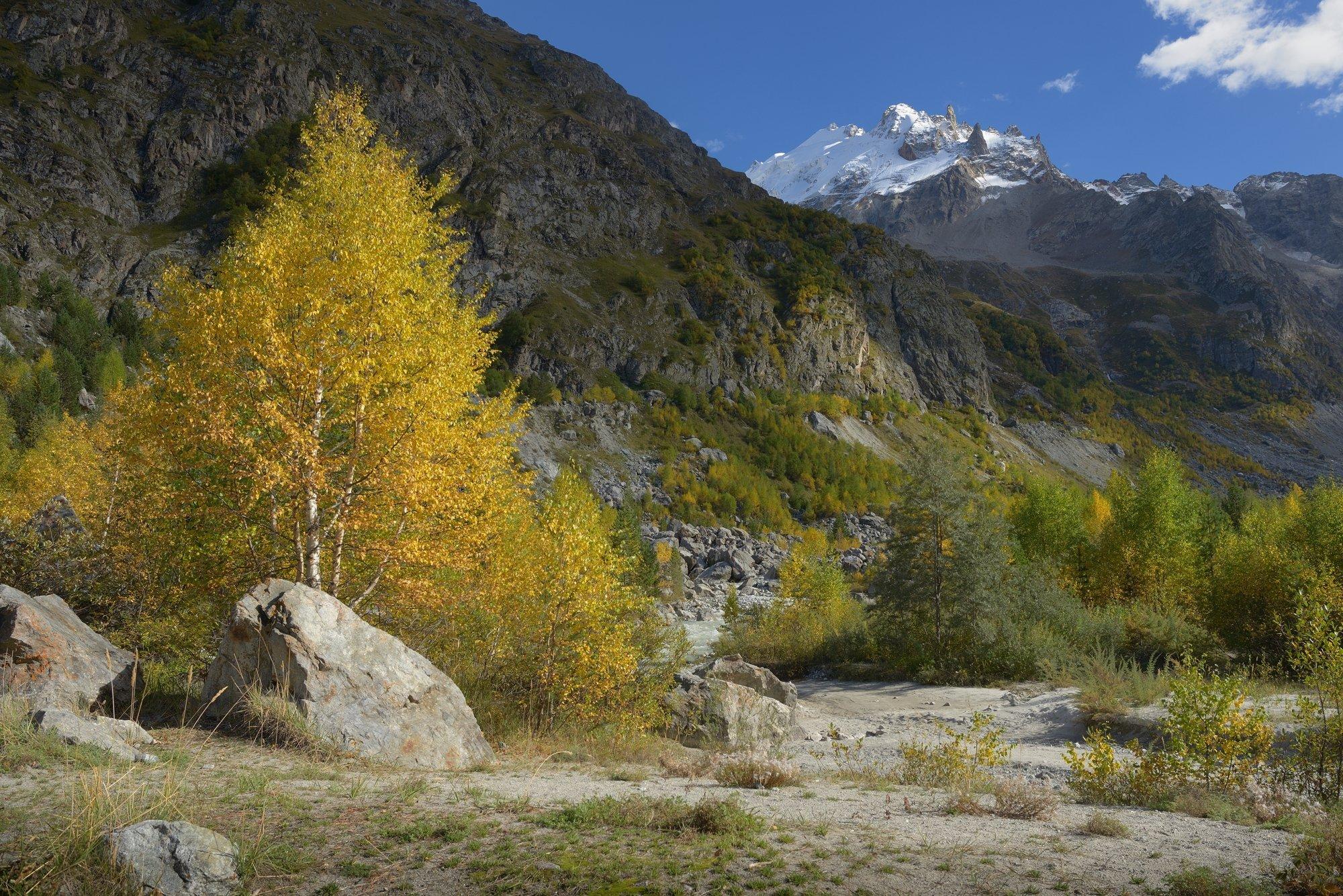 горы осень шхельда, Александр Жарников