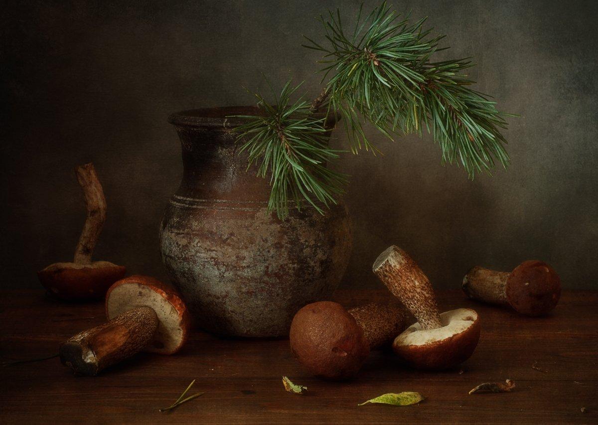 натюрморт,грибы,подосиновики,осень, Наталия К