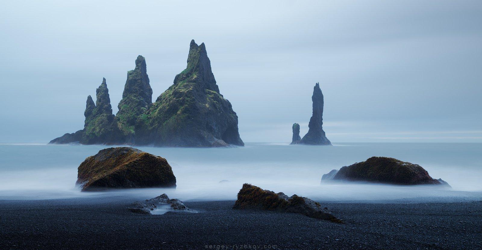 Reynisdrangar, Iceland, landscape, nature, sea, исландия, пейзаж, природа,, Сергей Рыжков