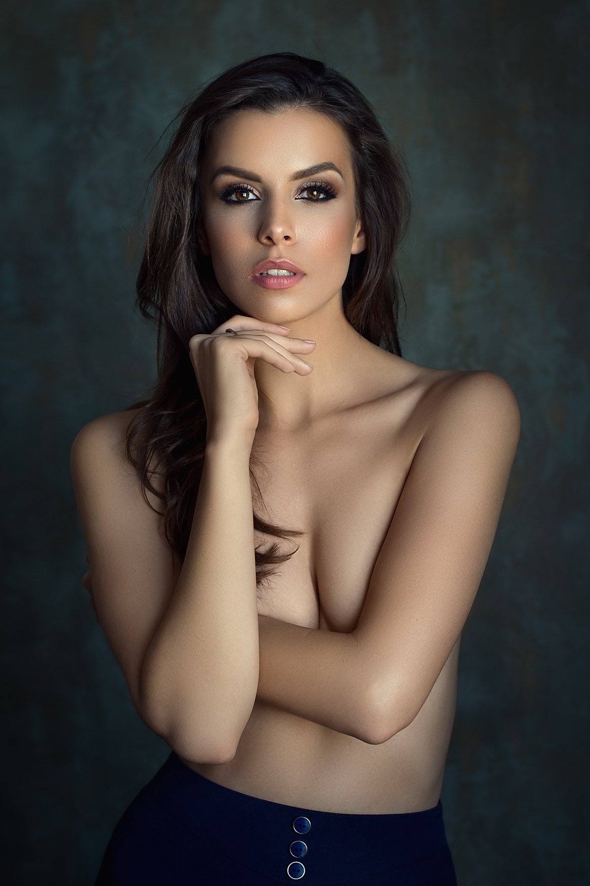 model, glamour, woman, female, colour, body, sexy, sensual,  curves, portrait, erotica,  fine art, implied nude, hair, fashion, fashion nude, portrait, natural light, red lips, beautiful,, Lajos Csáki