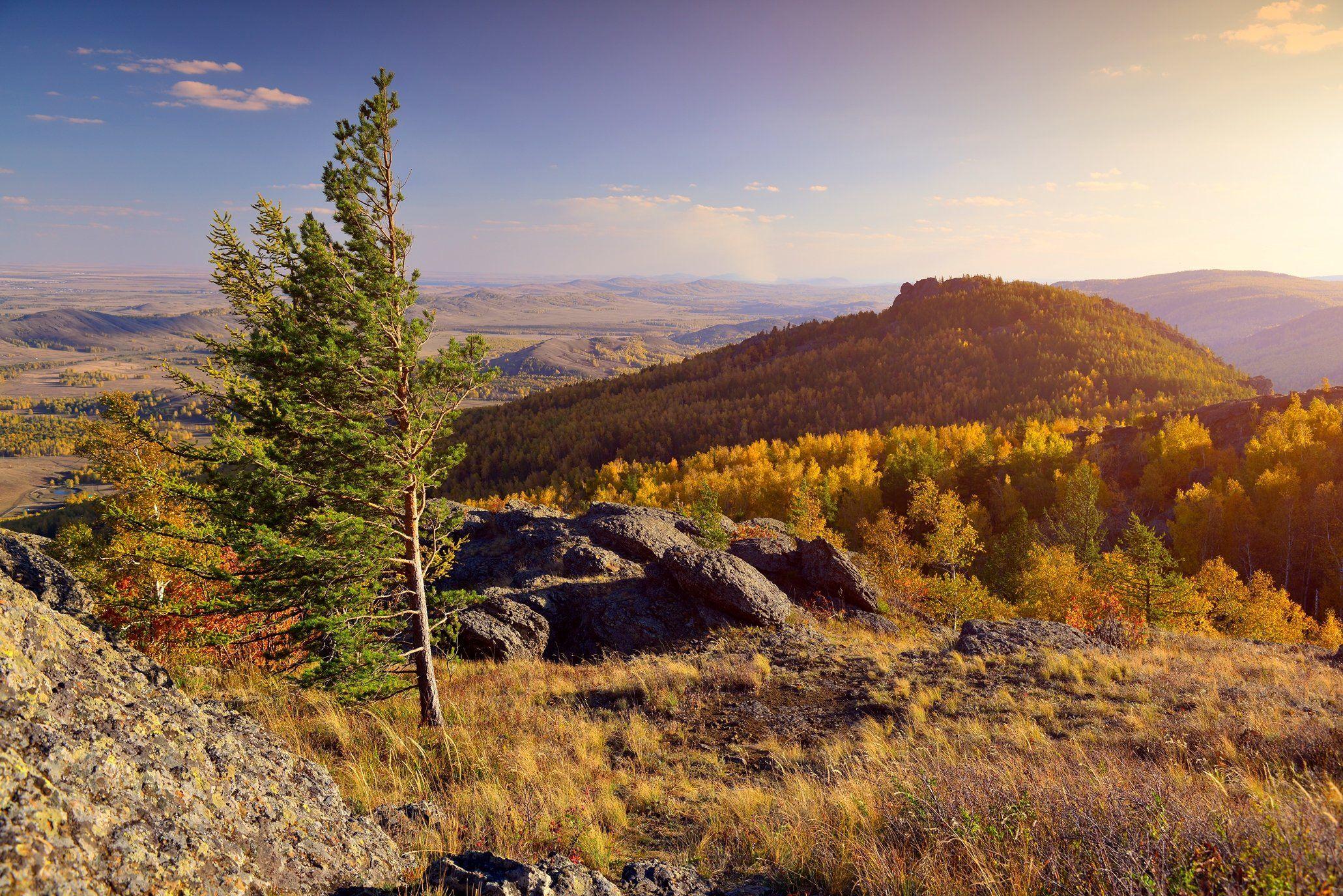 горы, осень, природа, Башкирия, Абзаково, Банное, Алексей Верзун