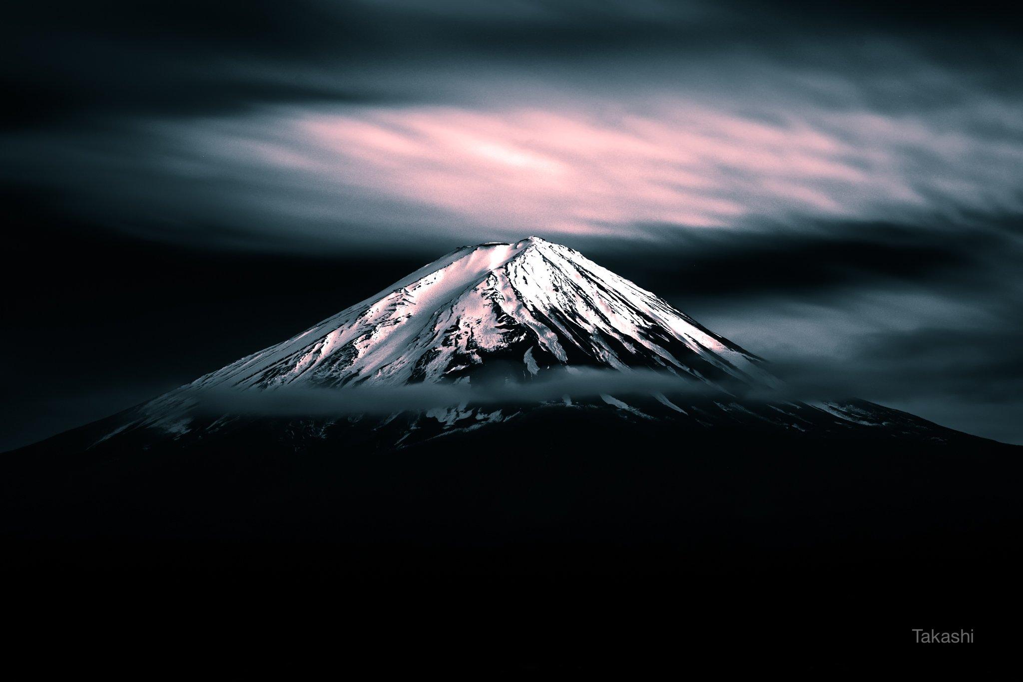 japan,fuji,mountain,cloud, Takashi