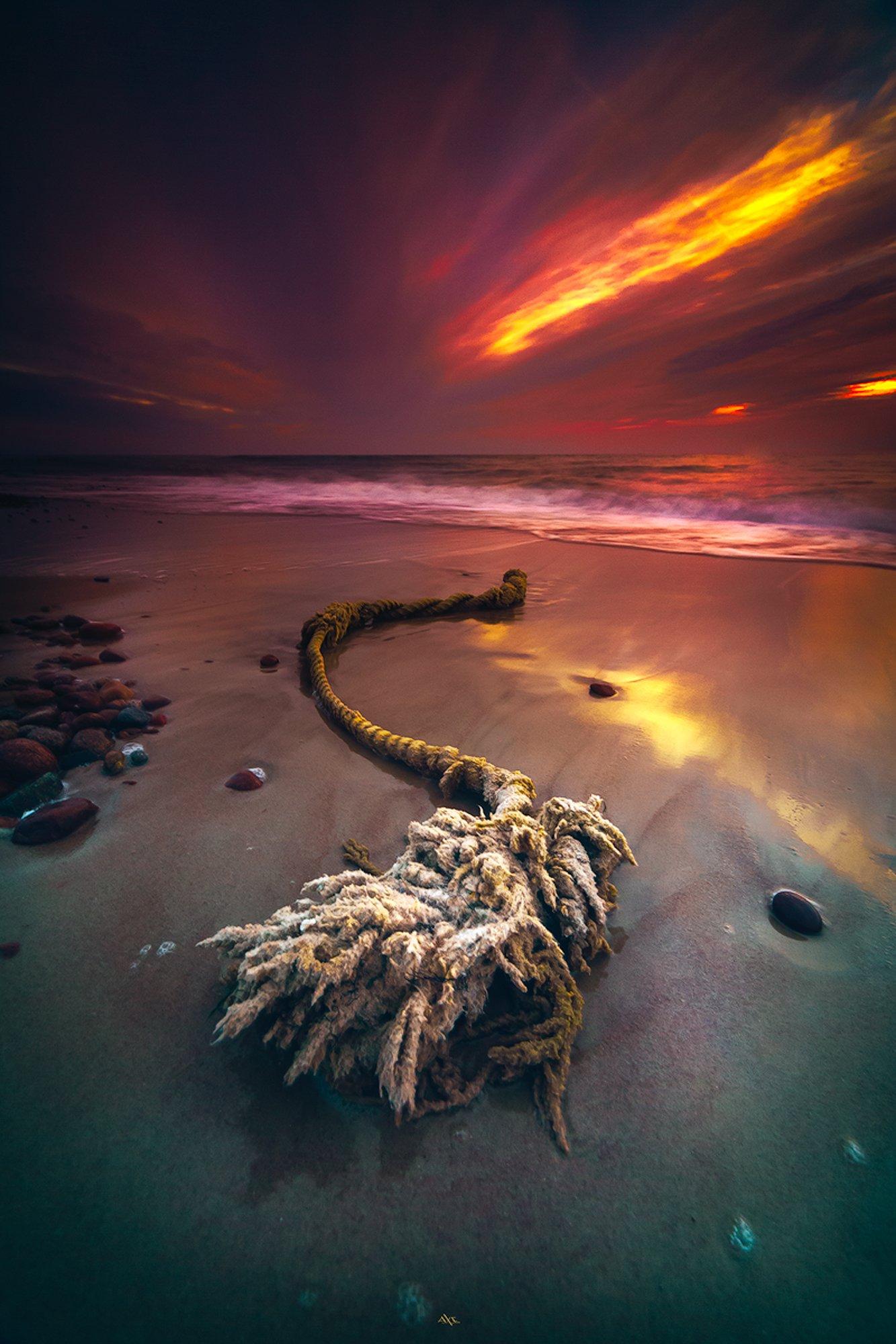 landscape, seascape, baltic sea, sunset, colors, long exposure, Руслан Болгов (Axe)