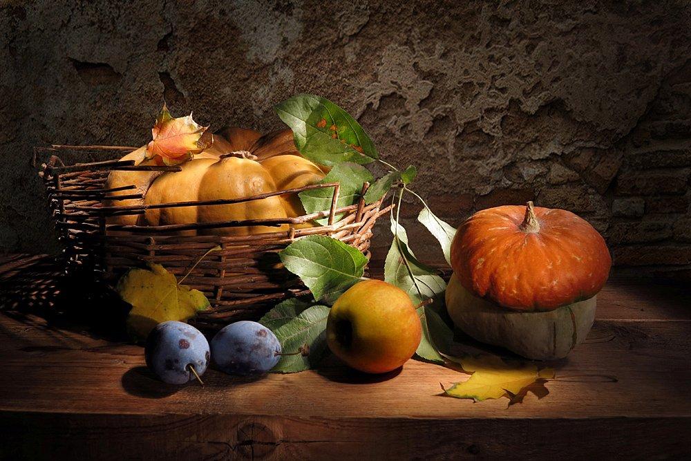Про тыквы,яблоко и сливы Алла Шевченко