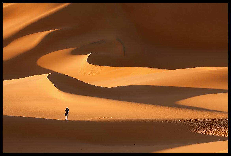 ливия, пустыня, сахара, песок, дюны, Виктория Роготнева