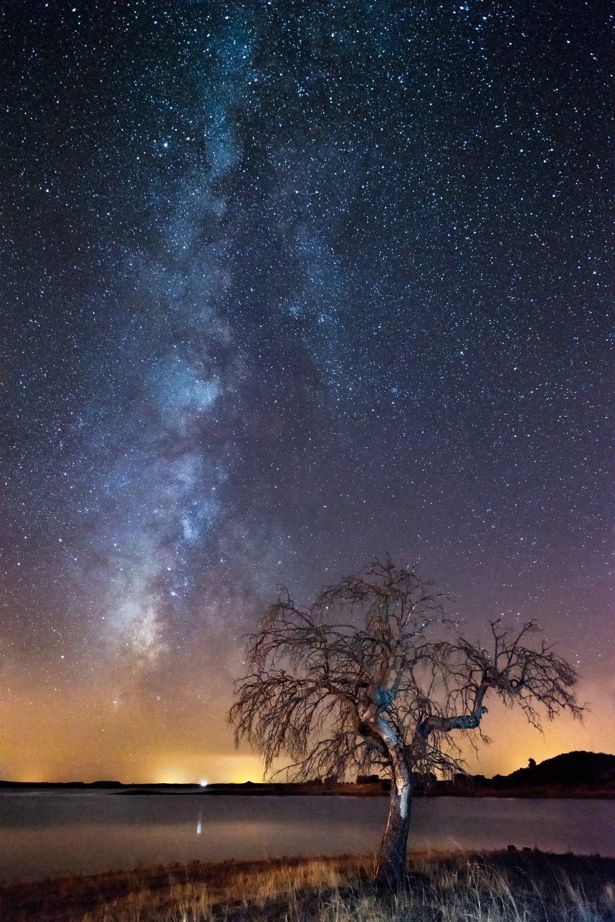 milky way,night,long exposure,lake,Portugal,photo hunter, Felix Ostapenko